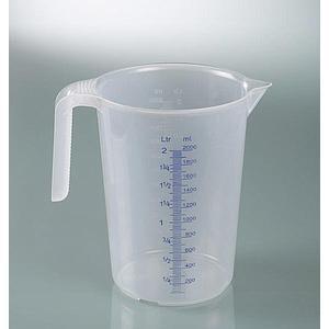 Tasse à mesurer industrielle - avec poignée - empilable - 1000 ml - Bürkle