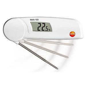Thermomètre pour mesure à coeur repliable Testo 103 - TESTO