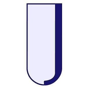 Tube en verre cylindrique non gradué - 100 ml