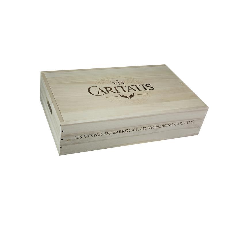 Caisse bois BL Via Caritatis avec
