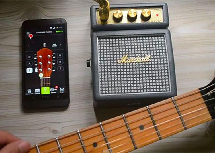 5 meilleures applications accordeur de guitare sur Android