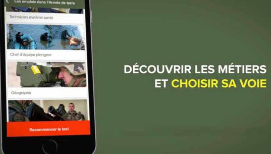 L'application Armée de Terre disponible sur Smartphones et tablettes