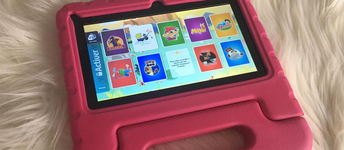 prix tablette pour enfant
