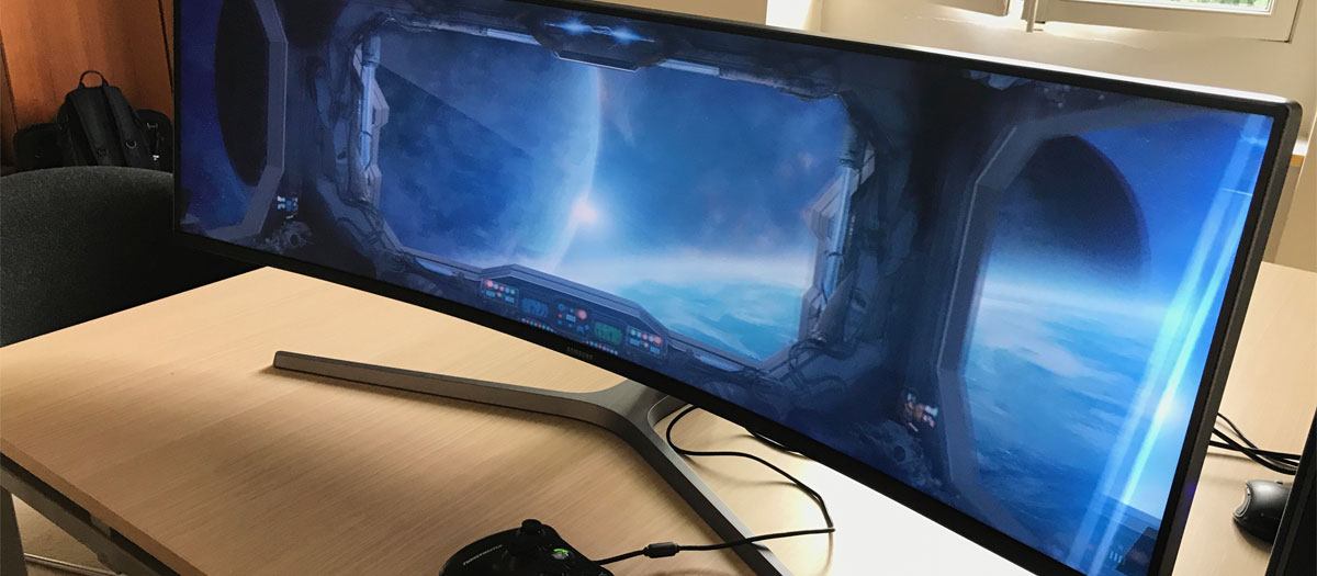 écran PC gamer pas cher