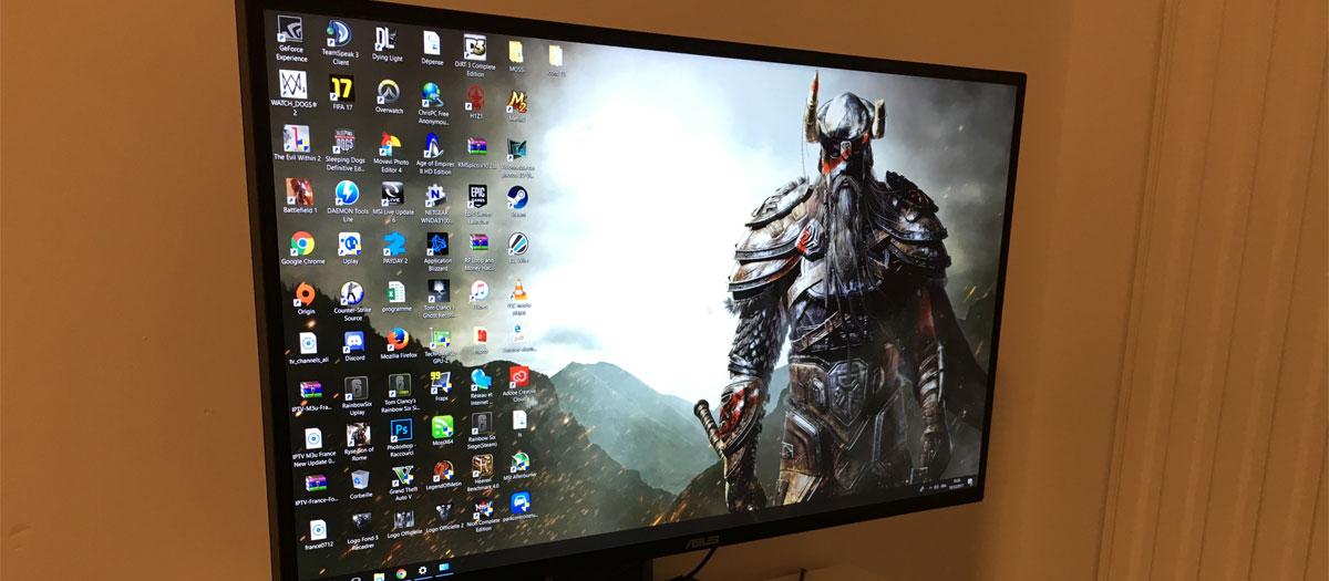 achat écran PC gamer