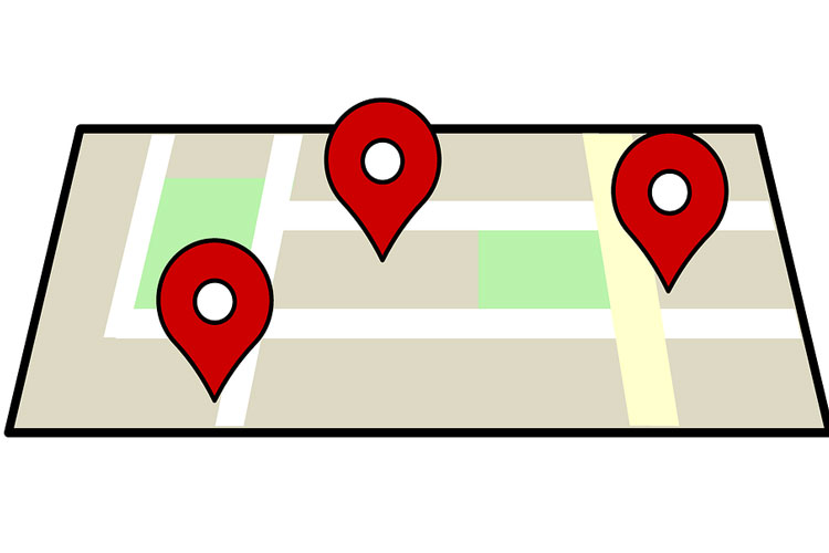 envoyer itinéraire google maps