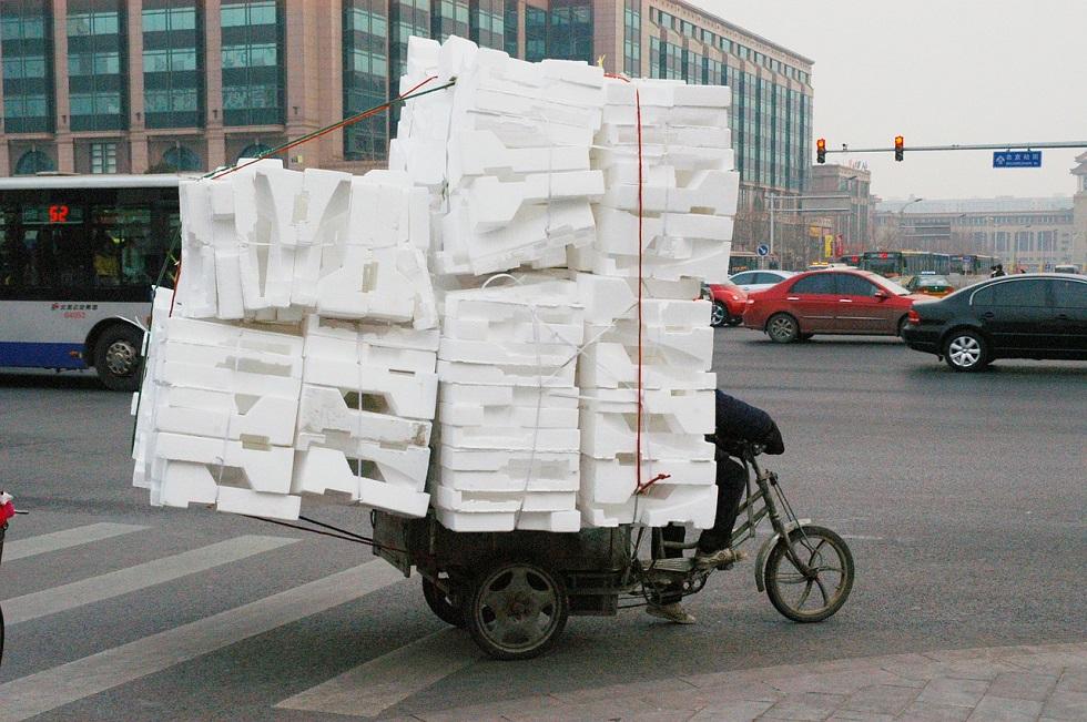 utilisation polystyrène