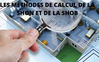 Comment calculer la SHOB et la SHON?