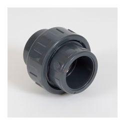 PVC DRUK 3DELIGE KOPPELING GRIJS 50MM 2XLIJMMOF