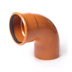 PVC BOCHT 88° RDBR BENOR 110MM MOF/SPIE SN8