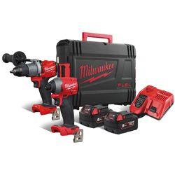 Milwaukee - Set M18 Fid2+M18 FPD2 + 2x5,0Ah 4933464268 pack m18fpp2a2-502x