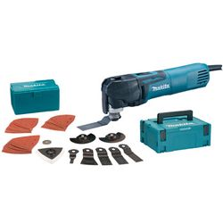 Makita - Multitool makita 320w tm3010cx3j