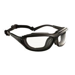 Veiligheidsbril zwart/grijs anti-damp madlux