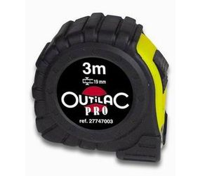 Outilac - Rolmeter pro outilac anti-choc 3m - 16 mm