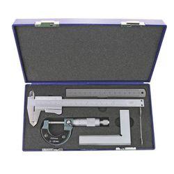 Set van 4 meetgereedschappen in koffer solide