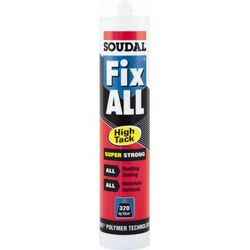 Soudal - Mastieklijmen fix-all high-tack wit 290ml  koker