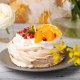 Photo gâteau pavlova