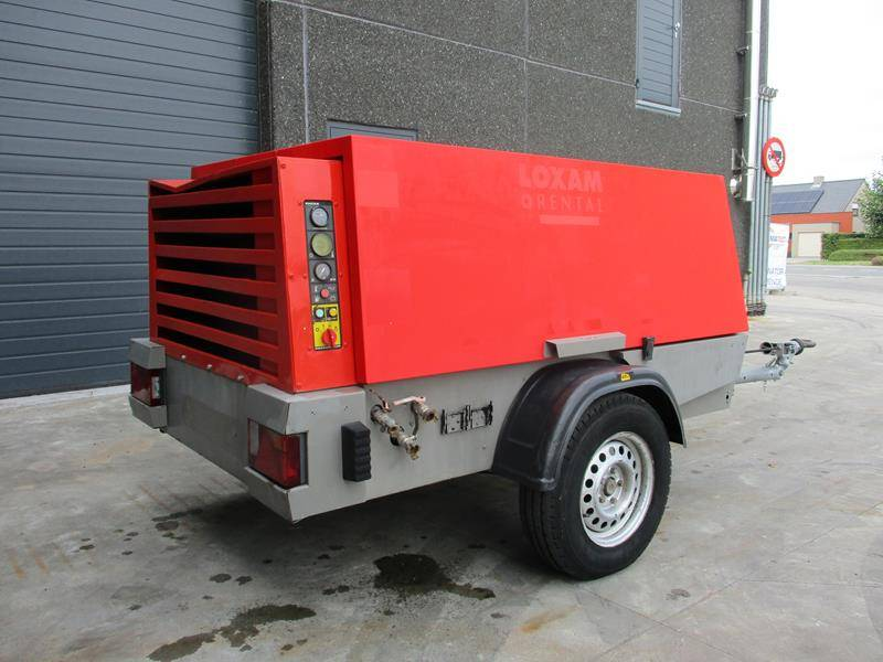 Kaeser M64-G Diesel compressor