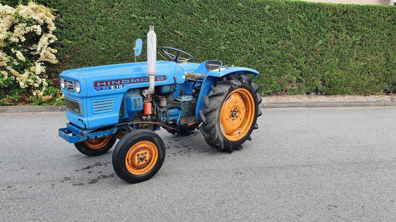 Mini tractor Hinomoto E18 Diesel