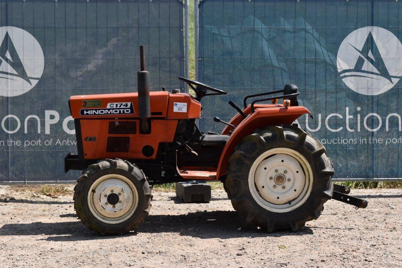 Mini tractor Hinomoto C174 Diesel