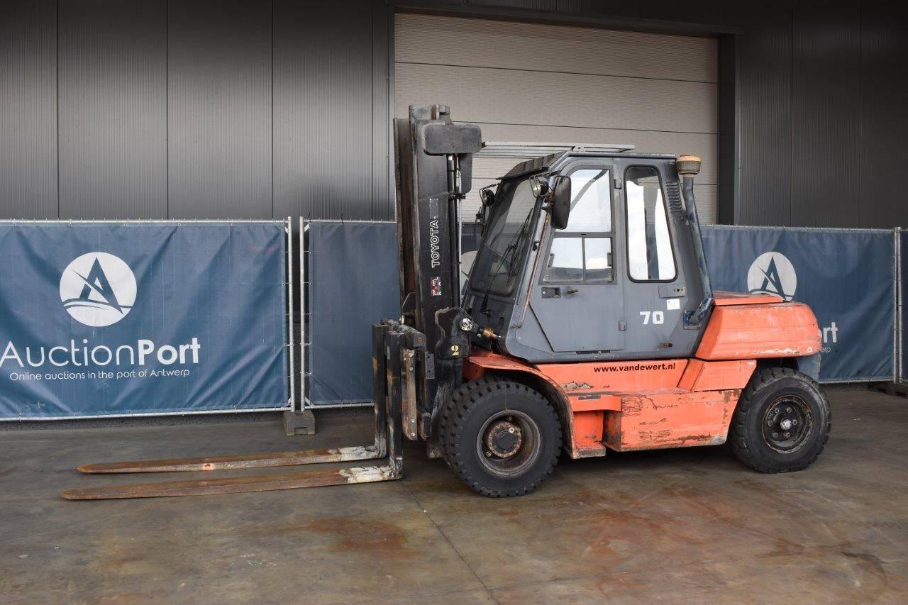Forklift Toyota 5FD70 Diesel 6300kg