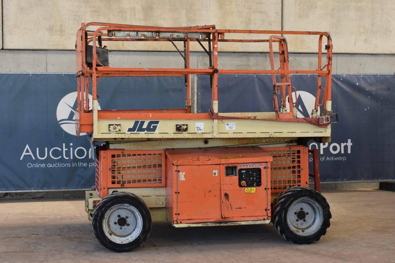 Scissor lift JLG 260MRT Diesel 9.92m