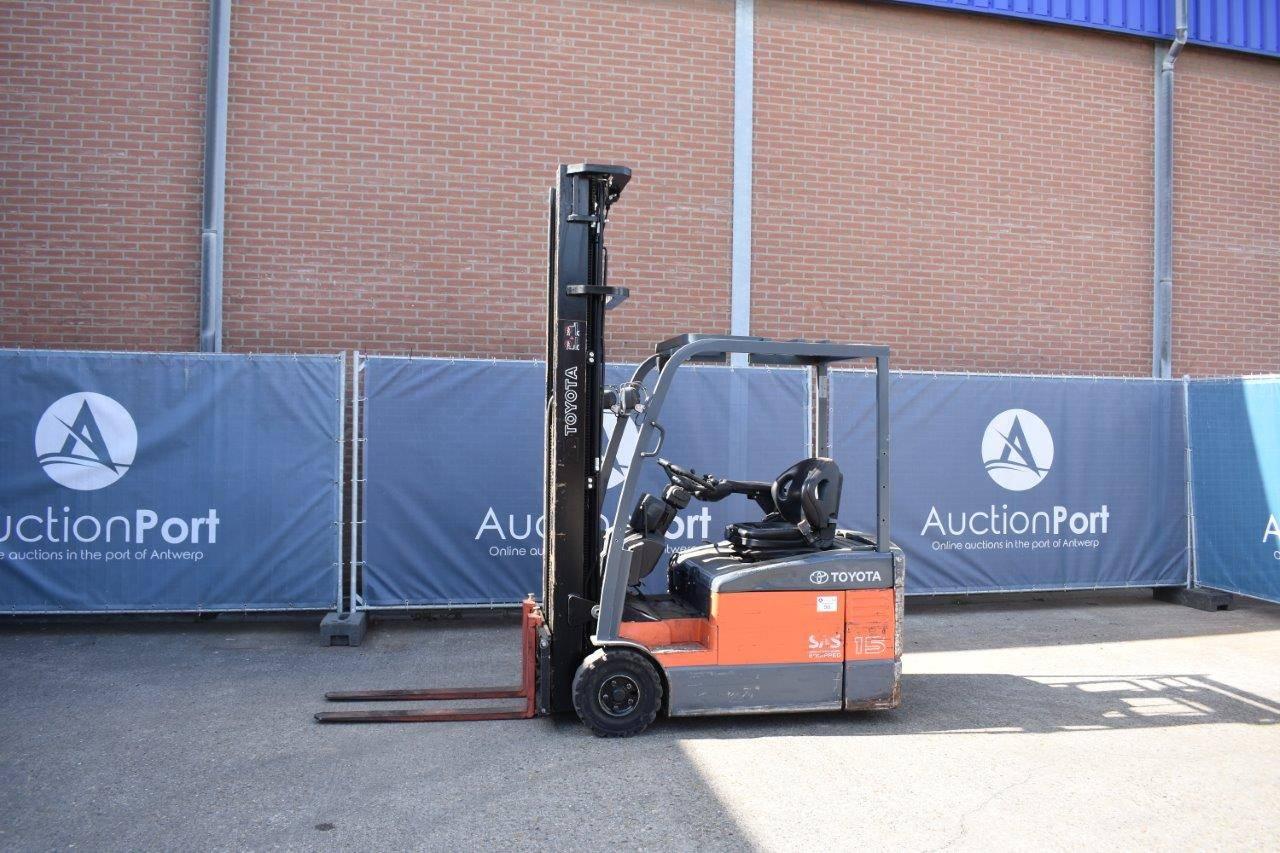 Forklift Toyota 7FBEF15 Electric 1500kg