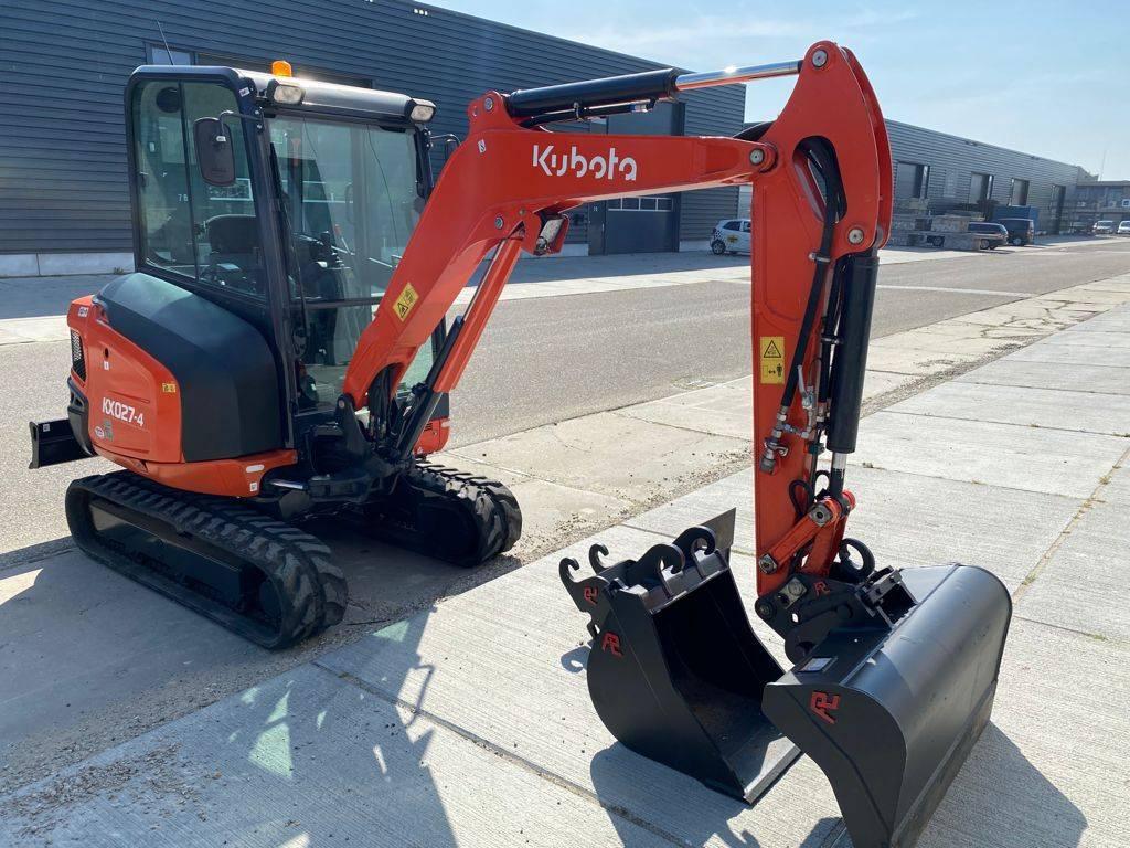 Excavator Kubota KX027-4 Diesel 2018