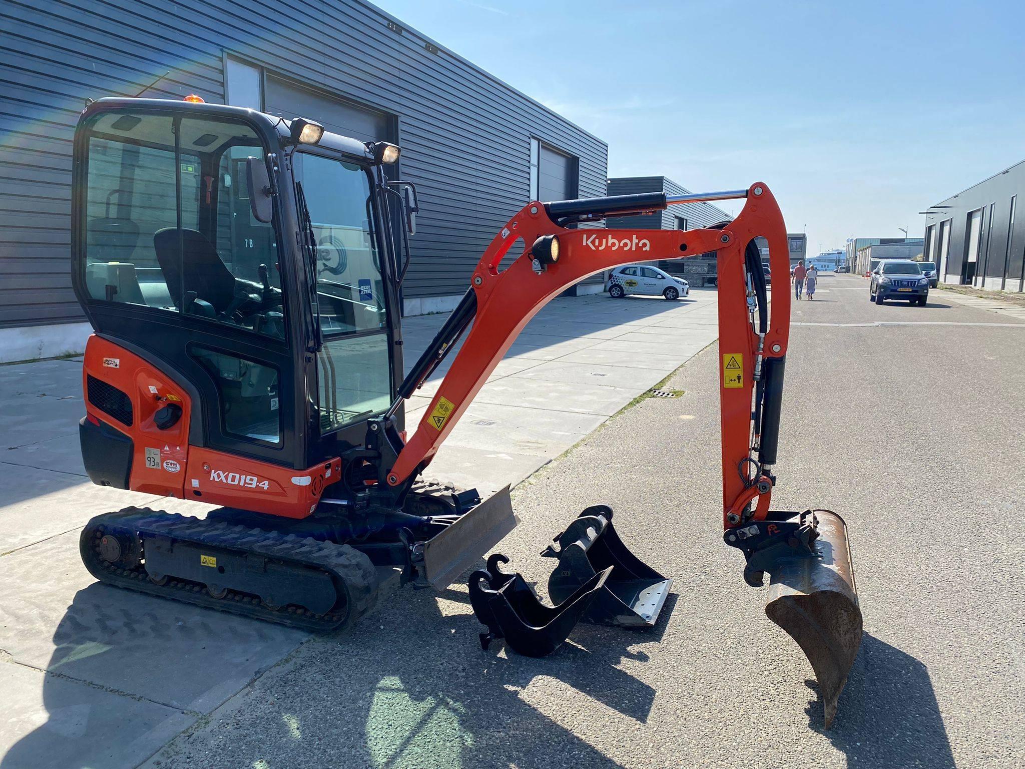 Excavator Kubota KX019-4 Diesel 2020