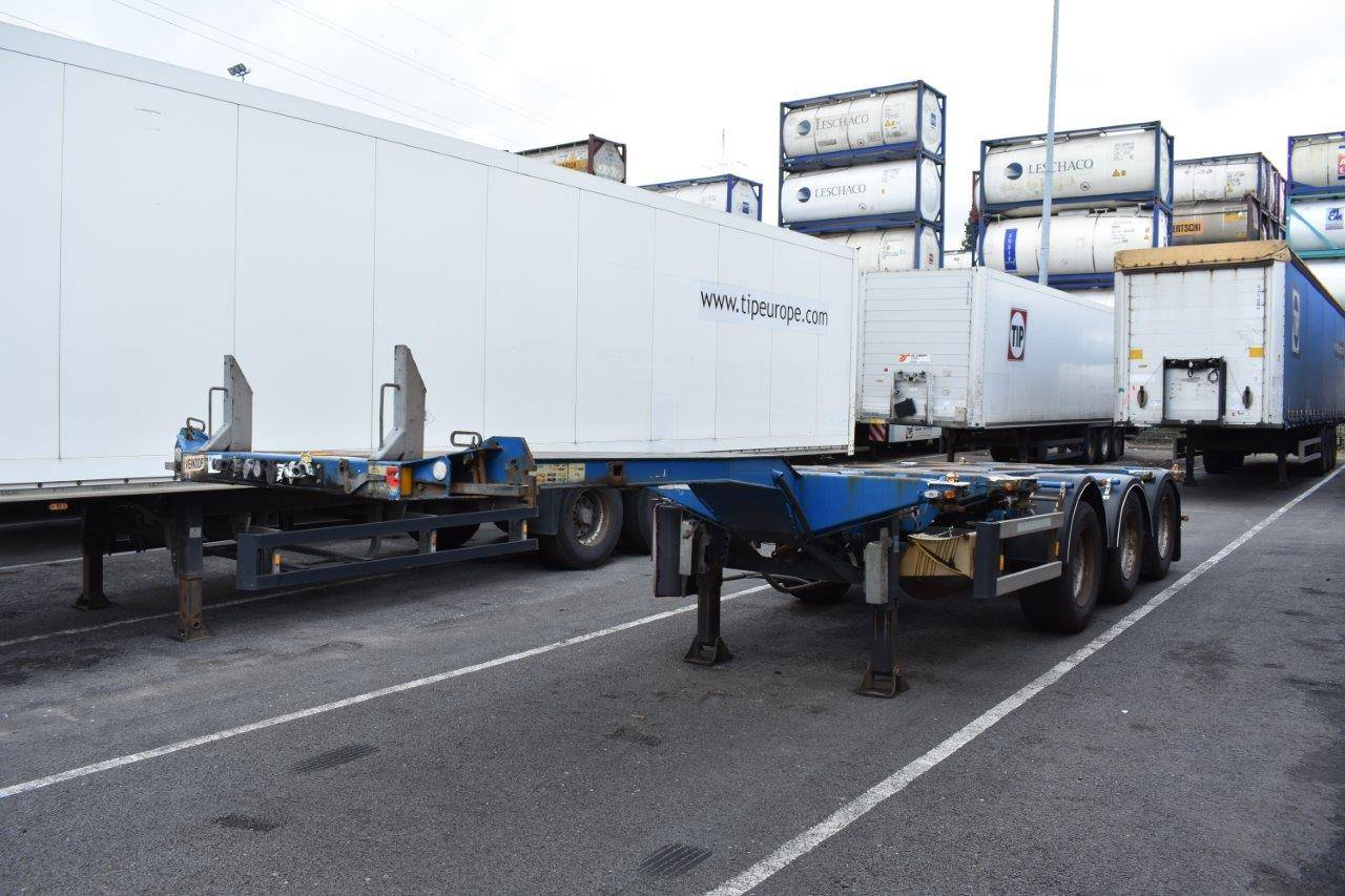 Container chassis 45ft D-TEC S / 00126 2008   Auctionport