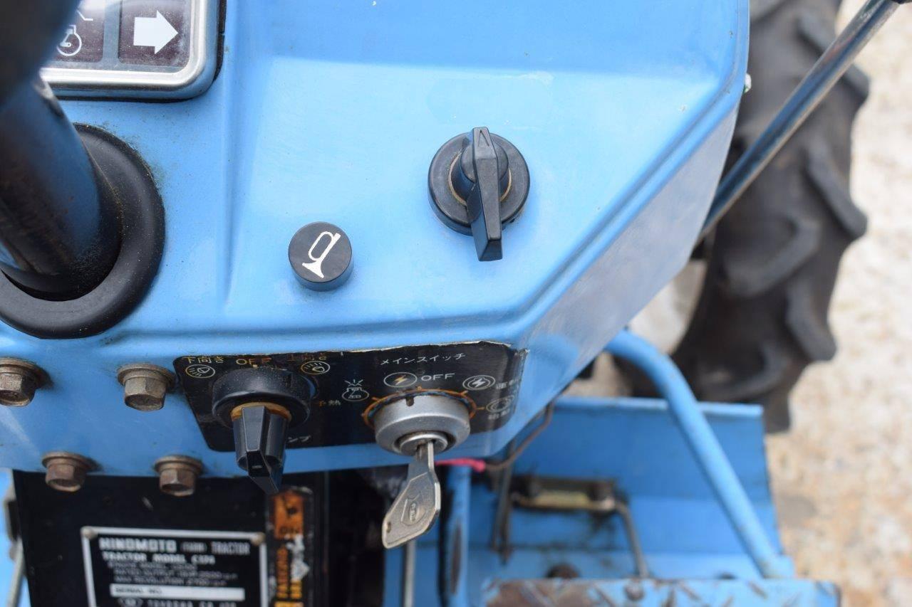 Mini tractor Hinomoto C174 | Auctionport