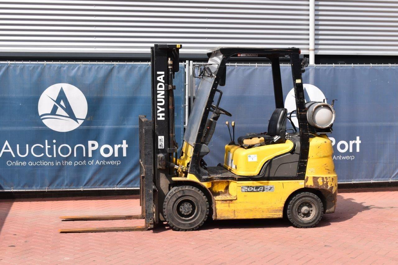 Forklift Hyundai 20LA-7 LPG 1275kg