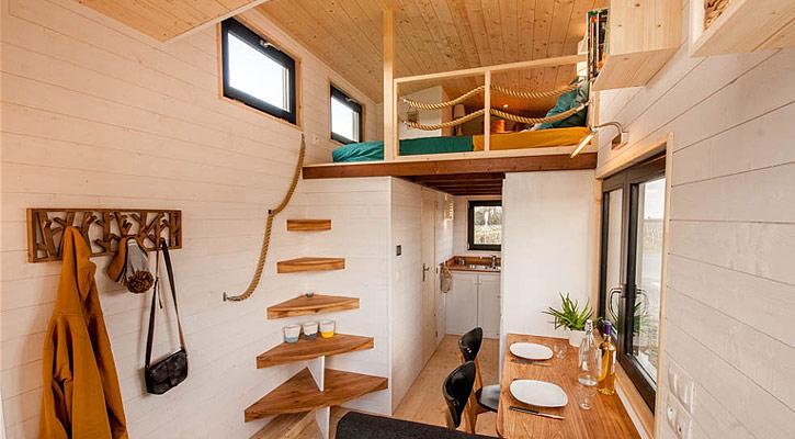 chambre tiny house
