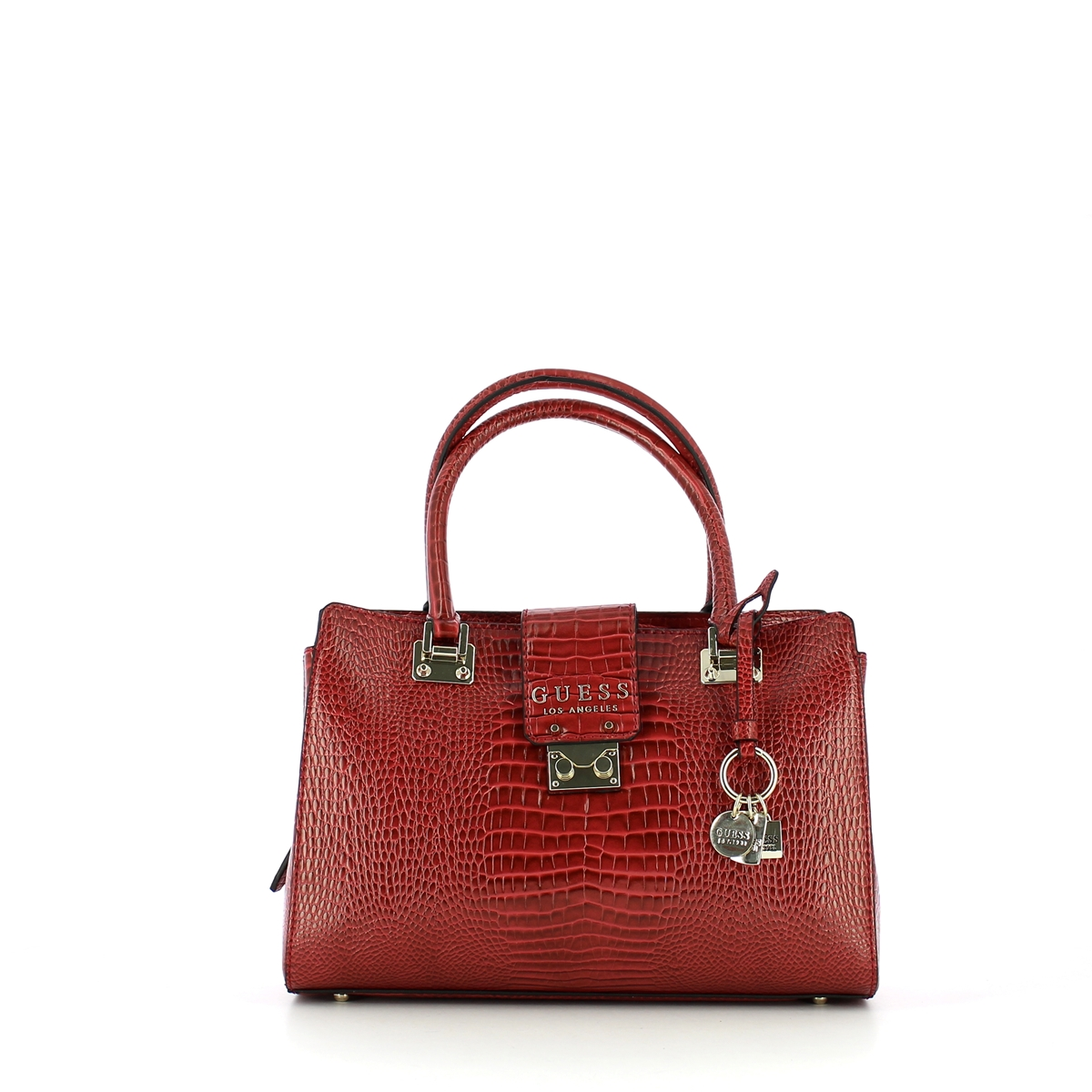 BORSA A MANO Cleo effetto Cocco Guess MERLOT EUR 119,20