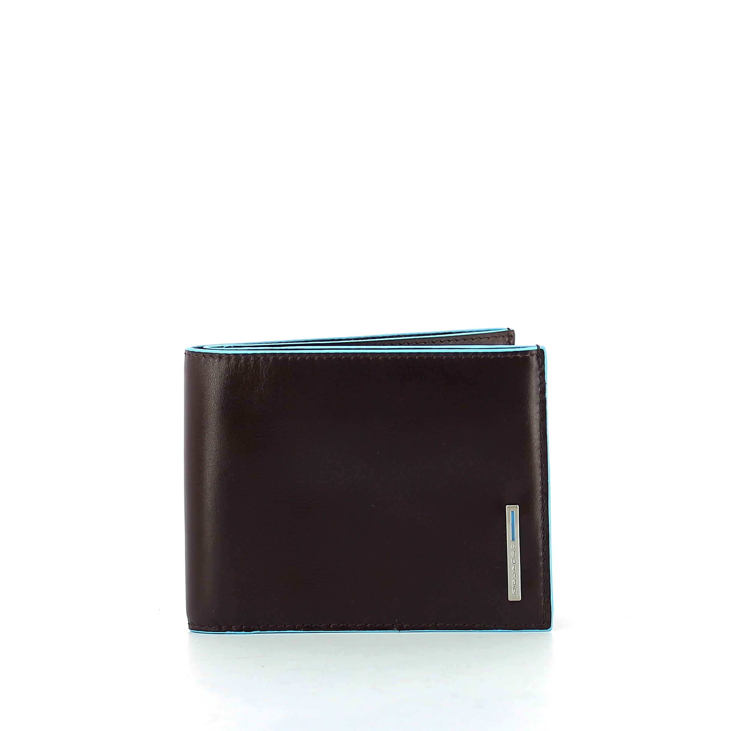 Portafoglio con portamonete Blue Square Piquadro  97199128b68