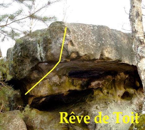 Reve De Toit rêve de toit - 6b+ - canche aux merciers