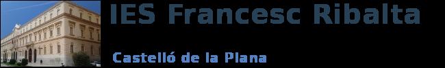 Logo FRANCESC RIBALTA