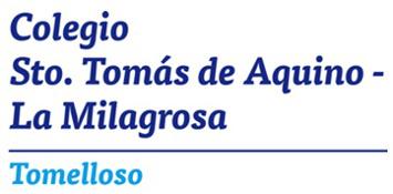 Logo SANTO TOMÁS DE AQUINO-LA MILAGROSA
