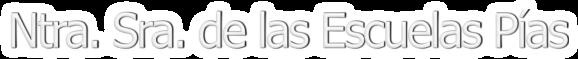 Logo Nuestra Señora DE LAS ESCUELAS PIAS