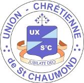 Logo UNION-CHRÉTIENNE DE SAINT CHAUMOND (FRANCÉS)
