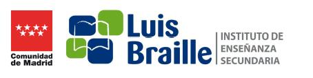 Logo LUIS BRAILLE