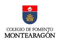 Logo COLEGIO DE FOMENTO MONTEARAGÓN