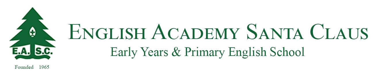 Logo English Academy Santa Claus