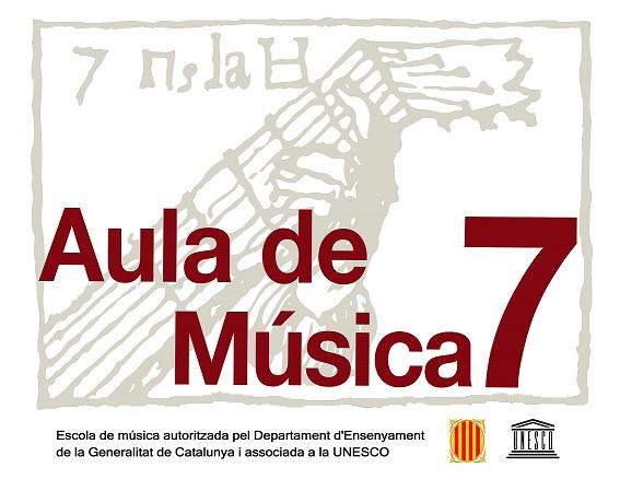 Logo Aula de Música 7