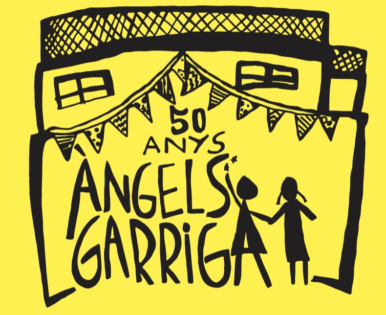 Logo Àngels Garriga