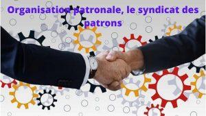 Organisations patronales