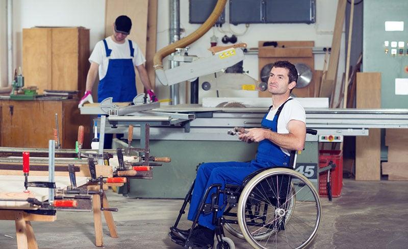 employé avec handicap