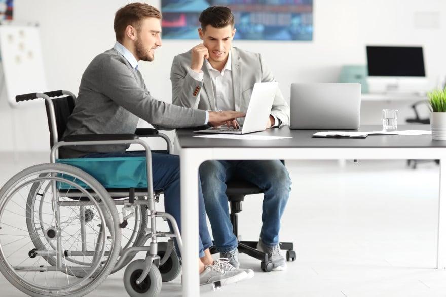 handicapé au travail
