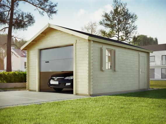 Garage bois TORONT