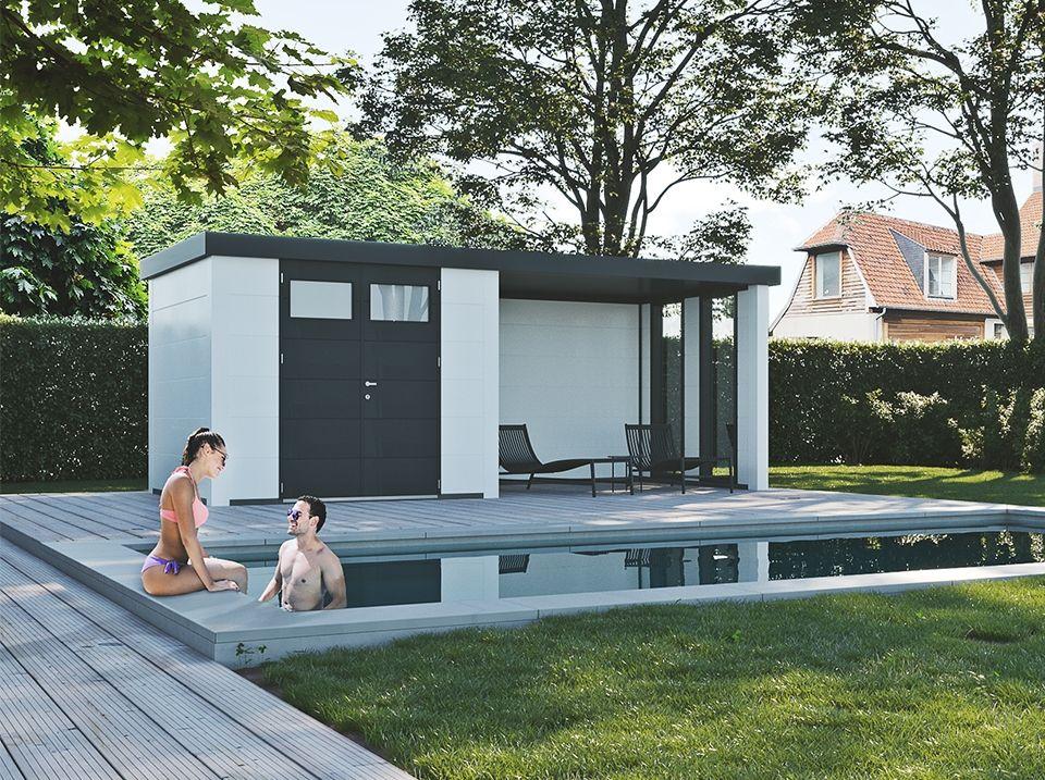 pool house pour la piscine